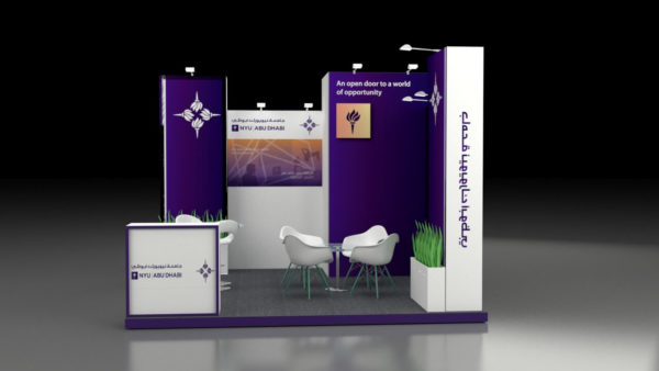 Cost-effective Modular Exhibition Stand in Abu Dhabi