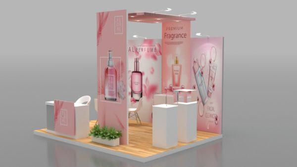 Eco-friendly Modular Exhibition Stand in Dubai
