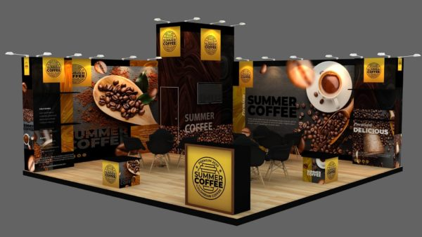Customized Modular Exhibition Stand in UAE