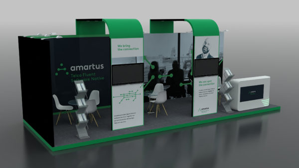 Shell Schemes and Modular Exhibition Stand in Abu Dhabi