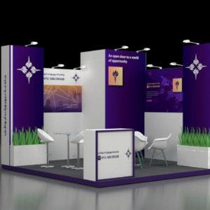 Elegant Designs in Modular Exhibition Stand in Abu Dhabi