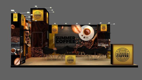Customizable Modular Exhibition Stand in Dubai