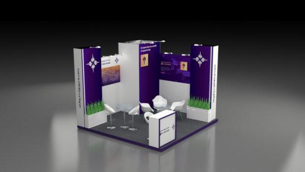 Elegant Designs in Modular Exhibition Stand in UAE