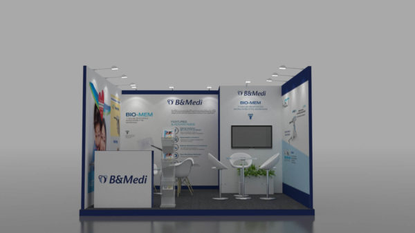 Size 4x4, Cost-effective exhibition stands in Abu Dhabi