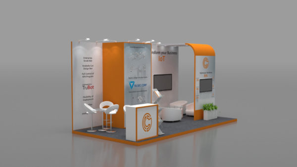 Modular Exhibition Stand in Abudhabi