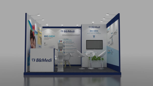 Size 4x4, Cost-effective exhibition stands in Dubai