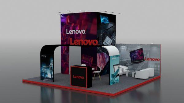 Modular Exhibition Stand in Dubai