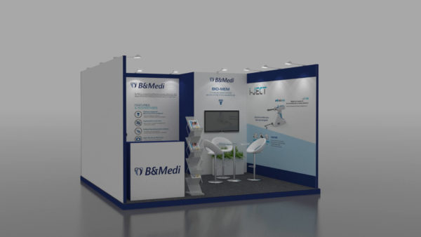 Size 4x4, Cost-effective exhibition stands in UAE