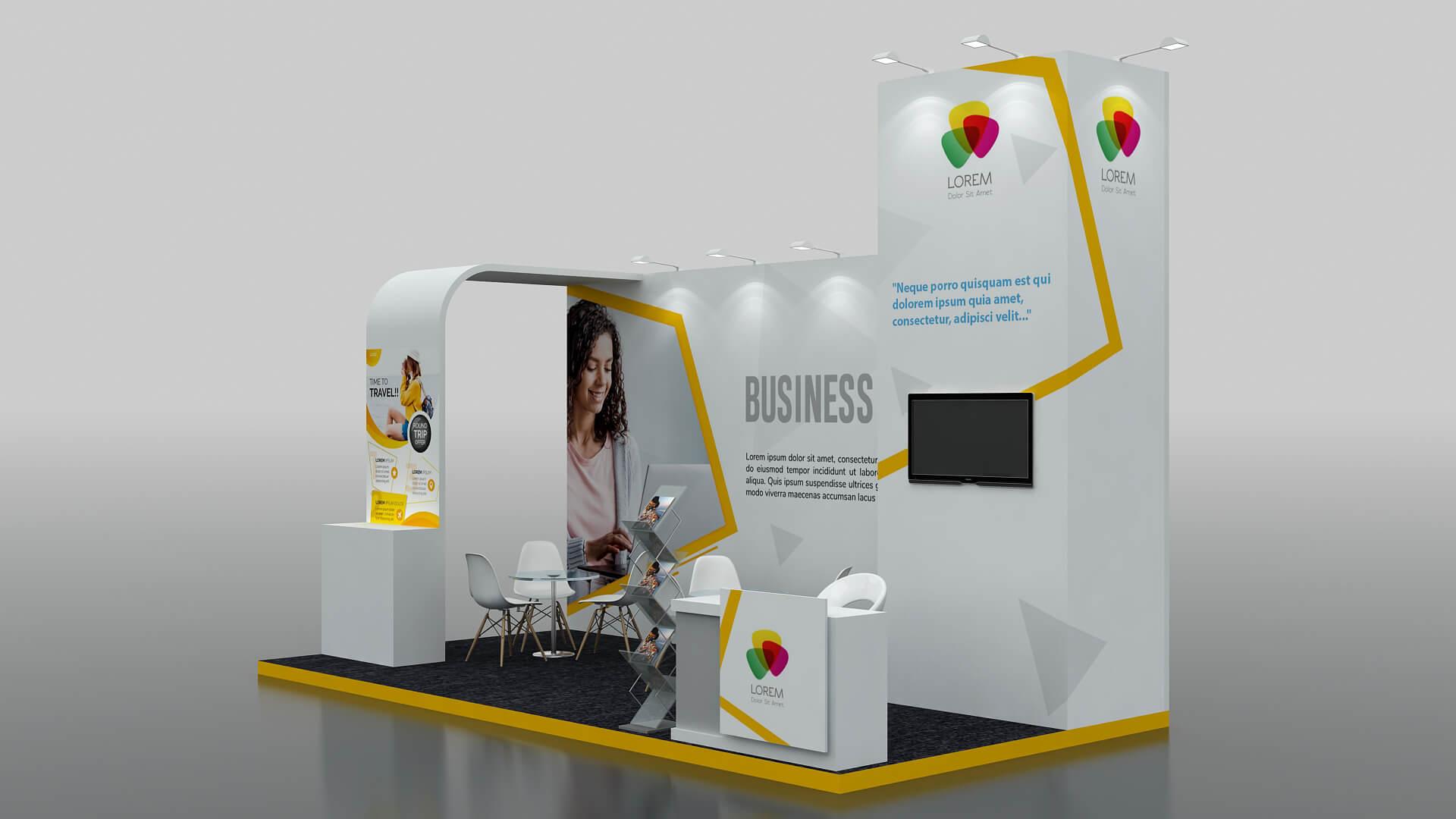 Dubai Modular Exhibition Stand