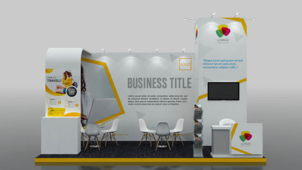 Modular Exhibition Stand Dubai with XESS