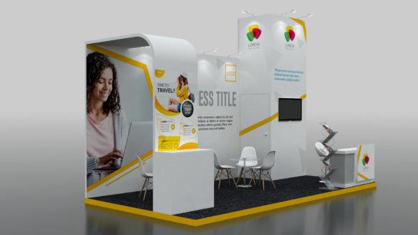 The Modular Exhibition Stand in Dubai