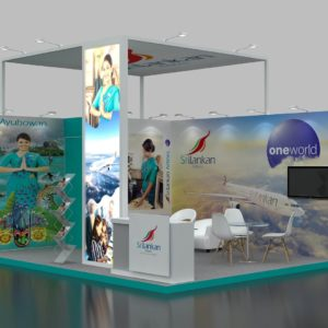 Modular Exhibition Stand in Dubai 5 x 4
