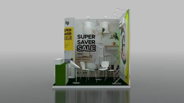 maxima Exhibition Booths in Dubai 3 x 3