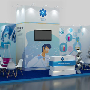 Eco-friendly Modular Exhibition Stand in UAE