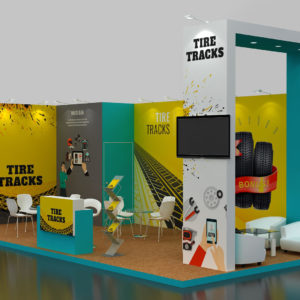 Modular Exhibition Stand in Dubai and Abu Dhabi