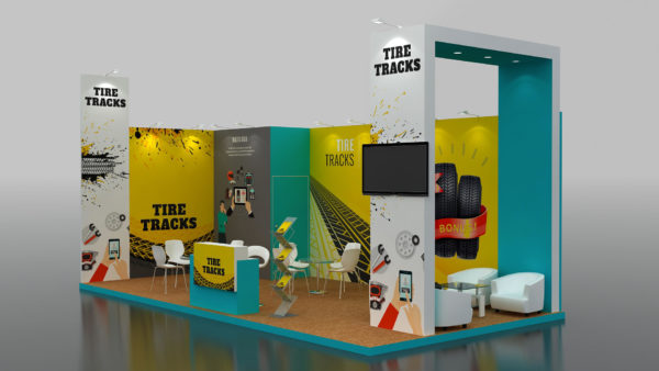Modular Exhibition Stand in Dubai and Abu Dhabi