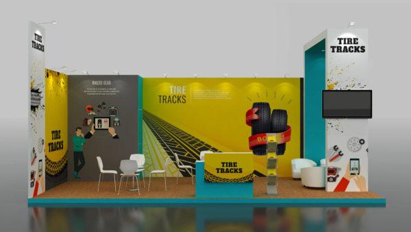 XESS Modular Exhibition Stand in Dubai