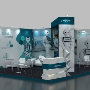 Size 8x6 Modular Exhibition Stand in Dubai, UAE