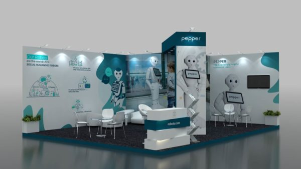 Size 8x6 Modular Exhibition Stand in Dubai, UAE