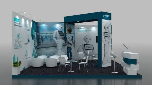 Eco-friendly Size 8x6 Modular Exhibition Stand in Dubai