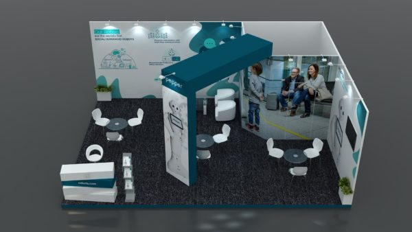 Size 8x6 Modular Exhibition Stand in UAE