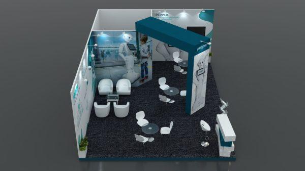 Size 8x6 Modular Exhibition Stand in Dubai