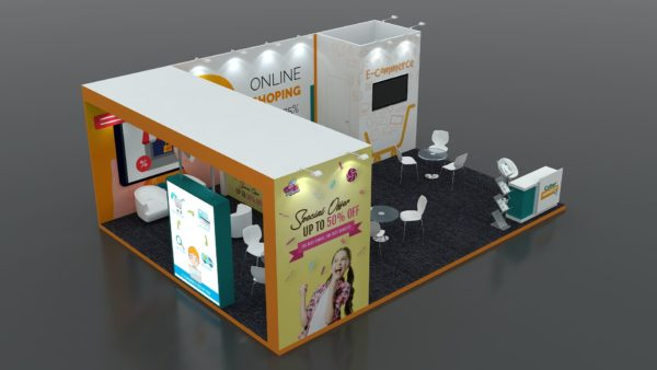 Modular Exhibition Stand in Dubai, Abu Dhabi