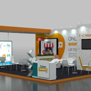 Size 8x6 Modular Exhibition Stand in Dubai, Abu Dhabi