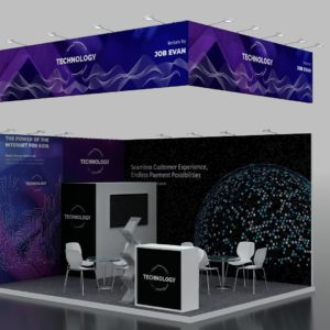 Cost-effective Modular Exhibition Stand in UAE