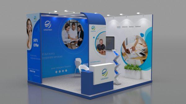Modular Exhibition Stand in Abu Dhabi