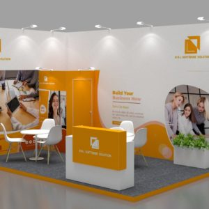 Size 5x3, Cost-effective exhibition stands in Dubai