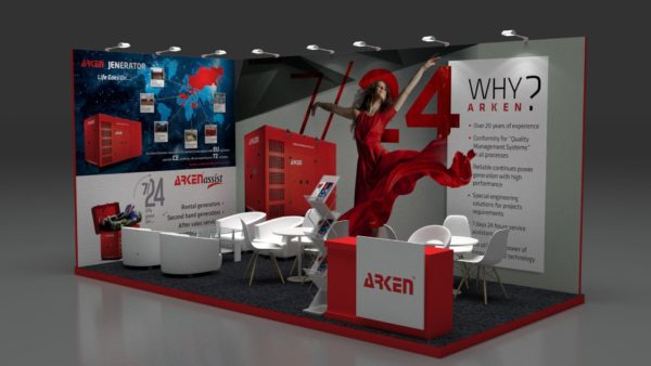 Modular Exhibition Stand in UAE