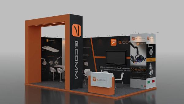 Eco-friendly Modular Stands in Dubai