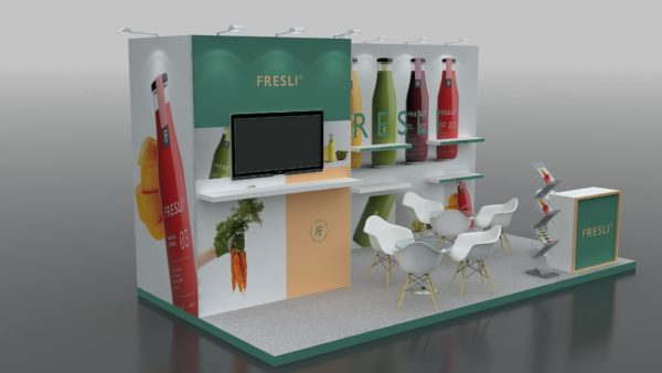 Reusable Modular Exhibition Stands in UAE