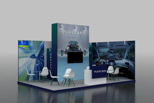 Perfect Modular Exhibition Stand in Dubai