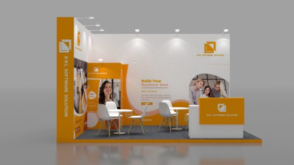 Size 5x3, Eco-friendly exhibition stands in UAE