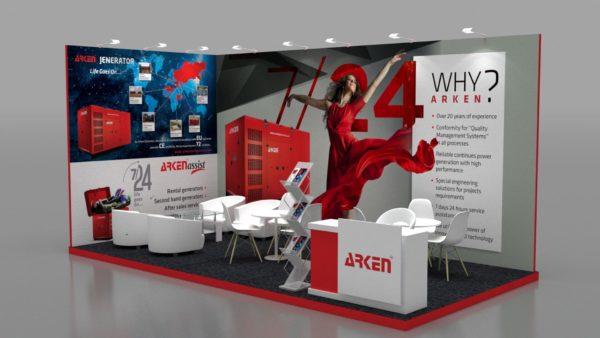 Modular Exhibition Stands in Dubai, Abu Dhabi