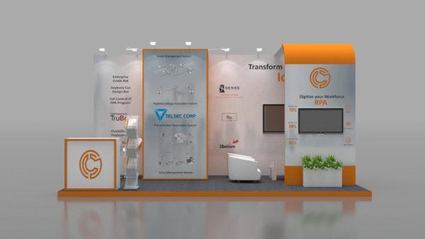 Size 5x3, Eco-friendly exhibition stands in Dubai
