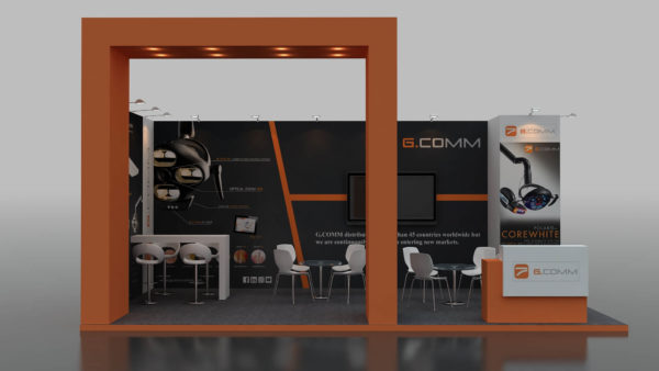 Size 7x4 Eco-friendly Modular Exhibition Stand in UAE