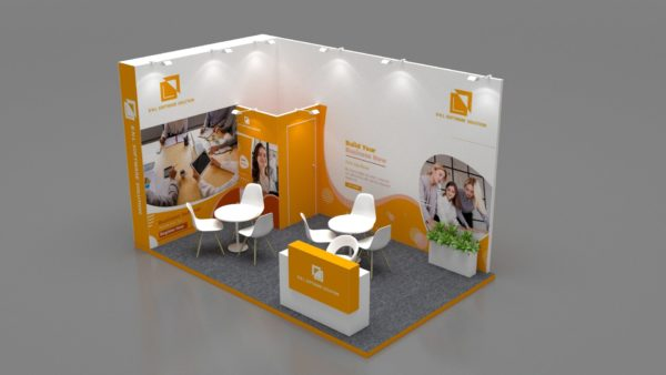 Size 5x3, Customizable exhibition stands in Abu Dhabi