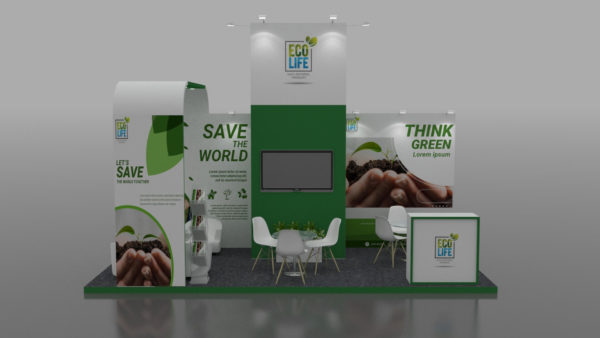 Modular Exhibition Stand in UAE