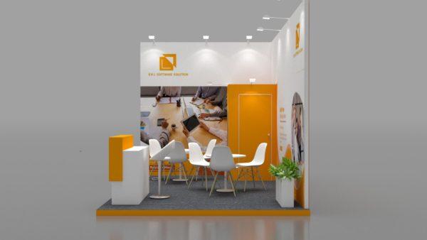 Size 5x3, Modular Exhibition Stand in Dubai
