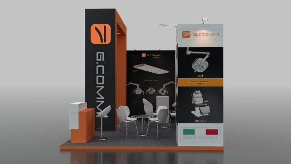 Size 7x4 Modular Stands in Dubai