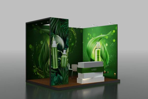 Modular Exhibition Stand in Dubai, UAE