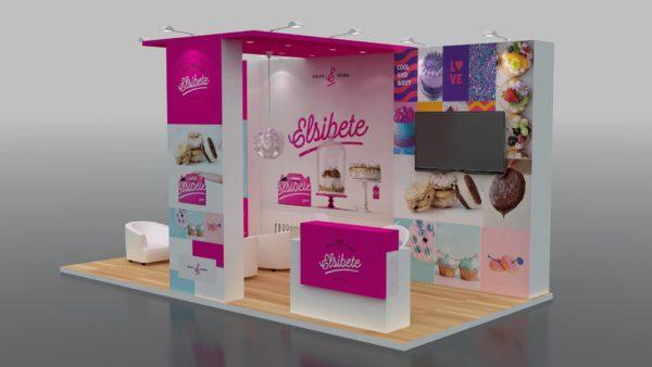 Creative Modular Exhibition Stand in UAE