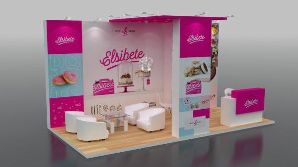 Modular Exhibition Stand in Abudhabi