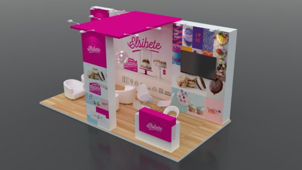 Modular Exhibition Stand in Dubai with Elegant Designs